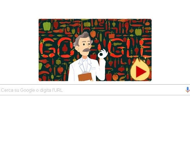 Dolce, piccante o piccantissimo? Google celebra Wilbour Scoville con doodle