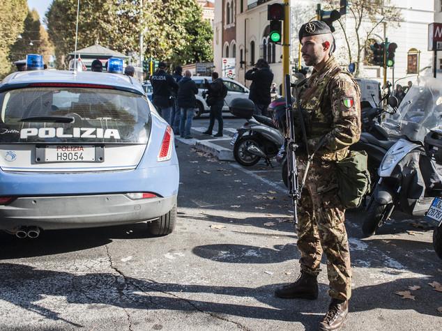 Roma, simulati attacchi terroristici