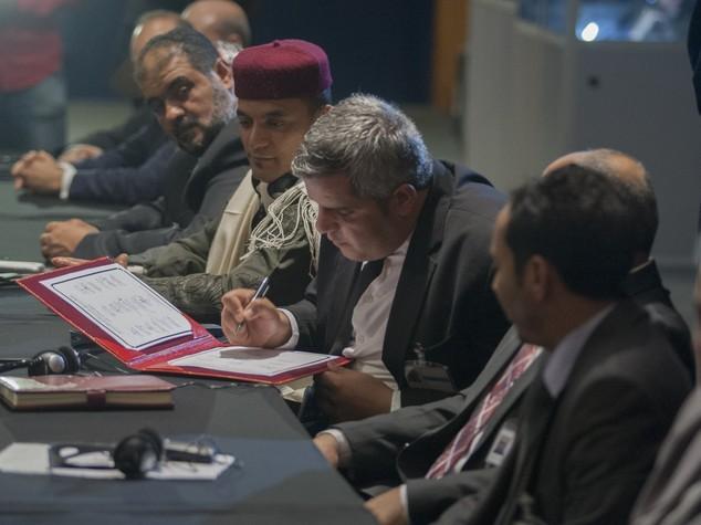 ONU annuncia varo governo unità libico