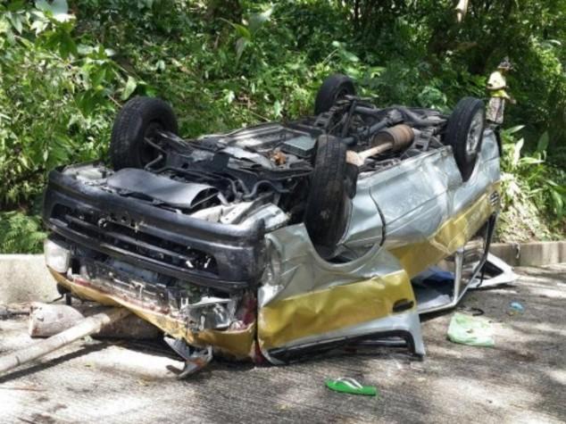 Si ribalta minibus, bimbo italiano muore in Dominica