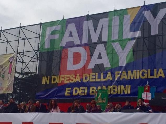 """Family Day, """"siamo due milioni"""""""