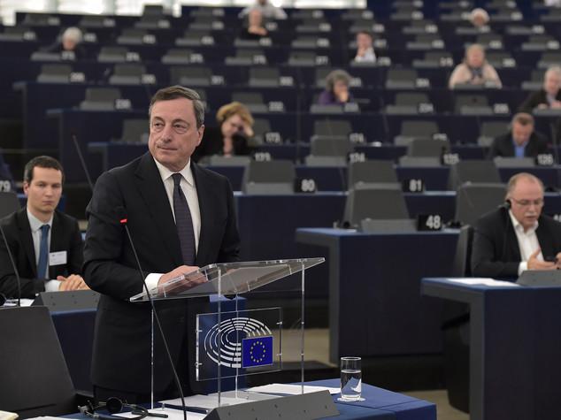 Draghi, a inizio marzo revisione politica monetaria