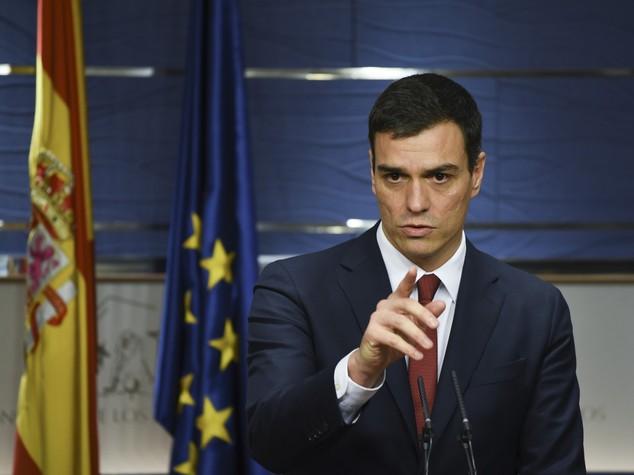 Spagna, segretario Psoe Pedro Sanchez si è dimesso