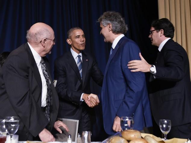 Anche Obama a standing ovation per Bocelli a Washington