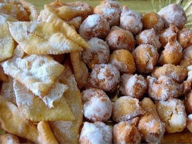 Carnevale tutti i dolci tipici regione per regione for Dolci tipici roma