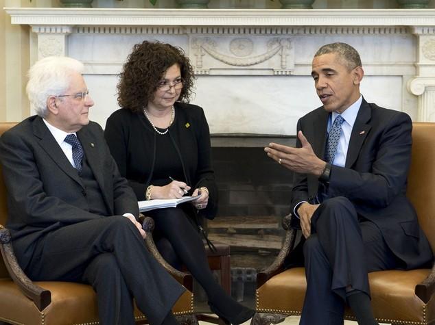 Mattarella da Obama, insieme sconfiggeremo terrorismo - Video