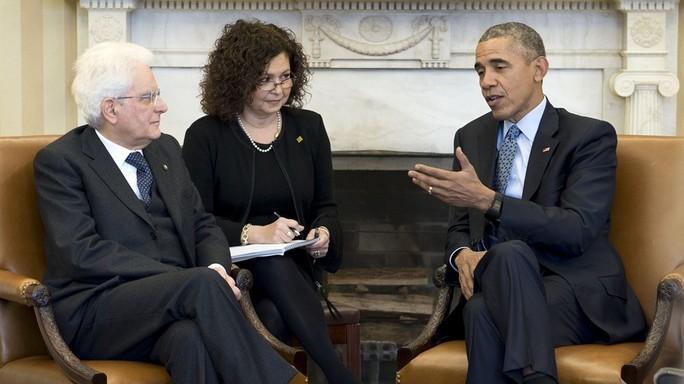"""Mattarella da Obama, """"insieme contro il terrorismo"""""""
