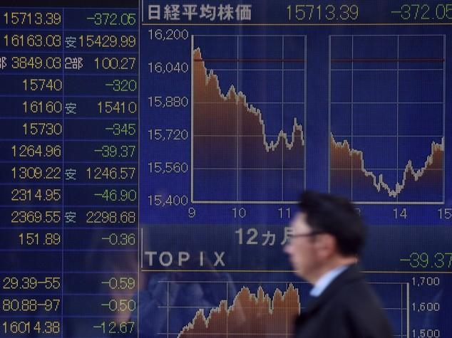 Borse asiatiche in rosso, nuovo scivolone di Shanghai