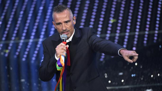 Sanremo: da Patty a Eros, è il Festival dell'arcobaleno -  Foto