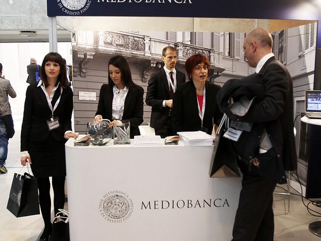 Mediobanca: utile semestre sale del 23% a 321 milioni