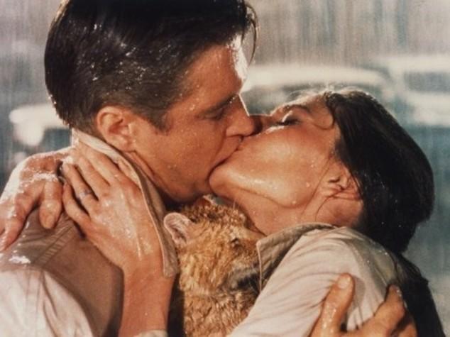 Festa degli innamorati con la pioggia