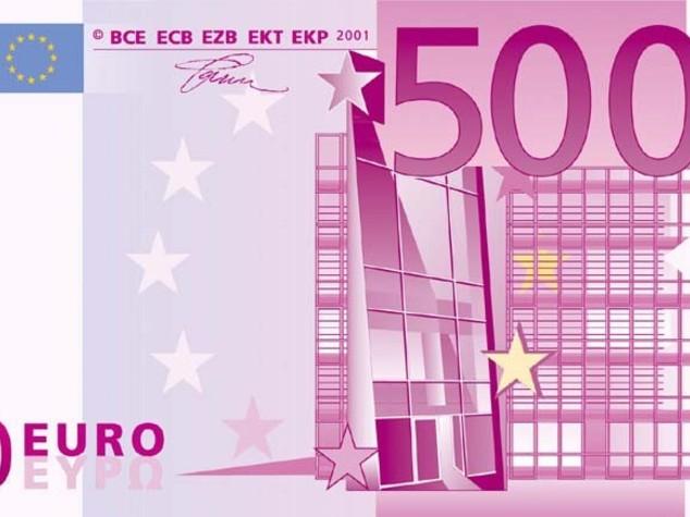 Bce: si fa piu' vicina la fine delle banconote da 500 euro