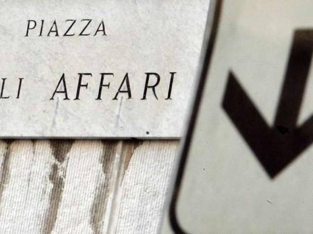 Borsa: Piazza Affari apre negativa, Ftse Mib -0,88%