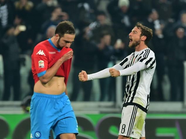 Serie A: Zaza decide il big match, Juve batte Napoli 1-0