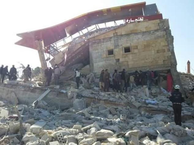 Siria, raid russo su ospedale Msf: 9 morti