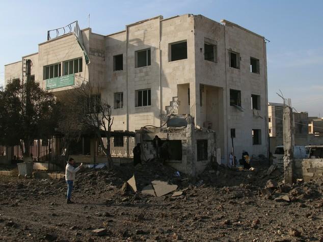 """Siria: Onu, attacco deliberato ospedali """"crimine di guerra"""""""