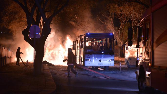 Strage di soldati ad Ankara
