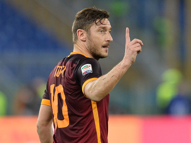Rottura con Spalletti, Totti in tribuna all'Olimpico
