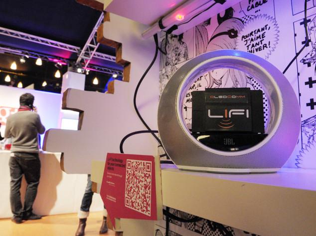Web: ecco Li-Fi, connessi alla lampada e 100 volte piu' veloci