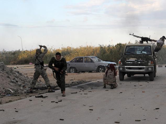 Libia, milizie Misurata alle porte della roccaforte Isis