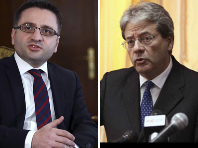 Migranti, Gentiloni incontra vicepremier macedone Besimi
