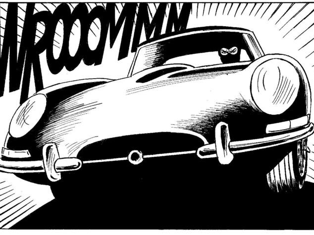 E' febbre d'auto d'epoca sul web. Si delira per la Jaguar di Diabolik -   FOTO