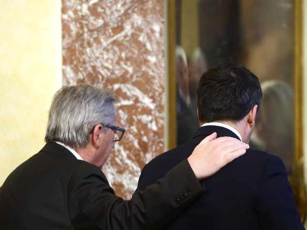 Renzi-Juncker, pace fatta
