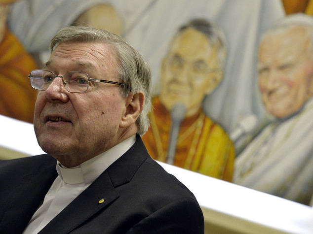 Pedofilia, Papa riceve cardinale Pell dopo suo 'mea culpa'