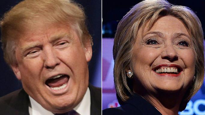 Si assottiglia il vantaggio di Clinton su Trump