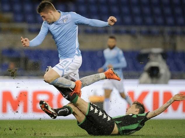 Il Sassuolo batte la Lazio 2-0