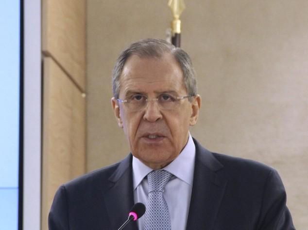 "Siria: 150 uccisi in raid russi, Lavrov ""no violazione Onu"""