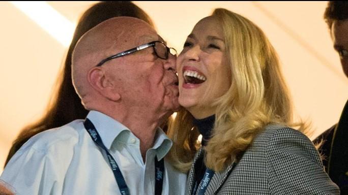 Rupert Murdoch e Jerry Hall si sono sposati