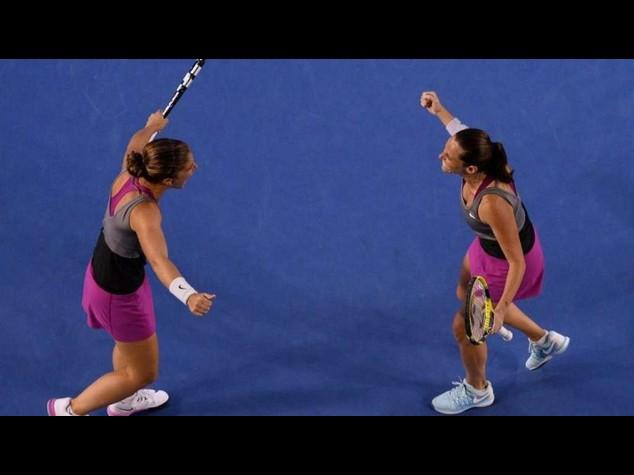 Tennis: Italy's Errani-Vinci through to Wimbledon final