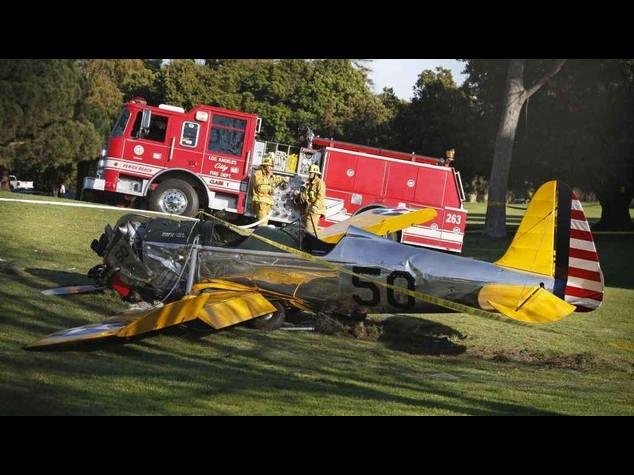 """Incidente aereo per Harrison Ford. Il figlio """"malconcio ma vivo"""""""