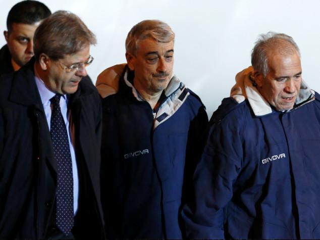 """Libia, Gentiloni """"nessun riscatto pagato"""""""