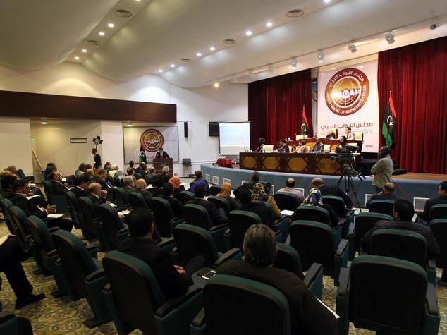 libia parlamento tobruk attende numero legale voto fiducia