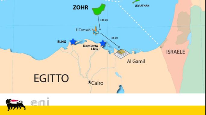 Eni: Descalzi, il gas potra' unire Egitto e Israele