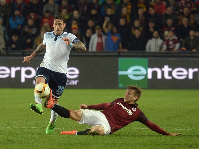 Europa League, Sparta Praga-Lazio 1-1