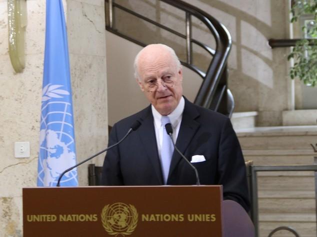 Siria: De Mistura, transizione politica resta nodo del contendere
