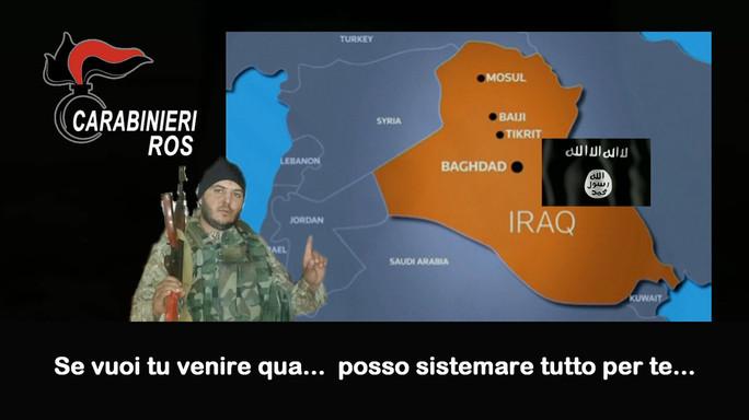 Kamikaze per l'Iraq, due arresti a Roma