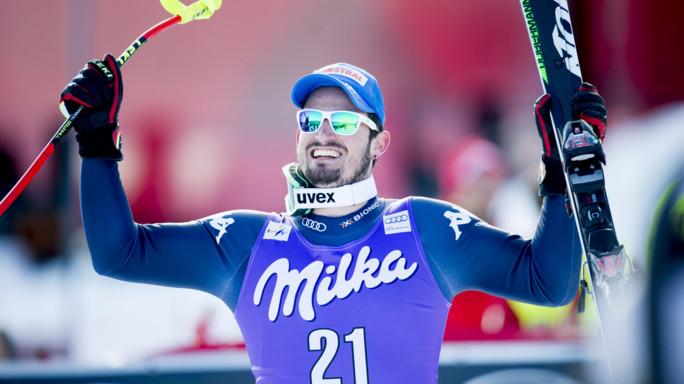 Sci alpino, l'azzurro Paris vince la libera di Kvitfjell