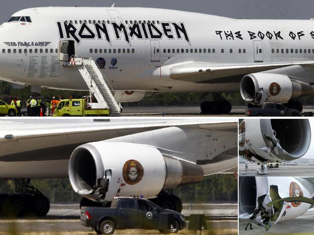 Incidente in pista aereo Iron Maiden, band non era a bordo