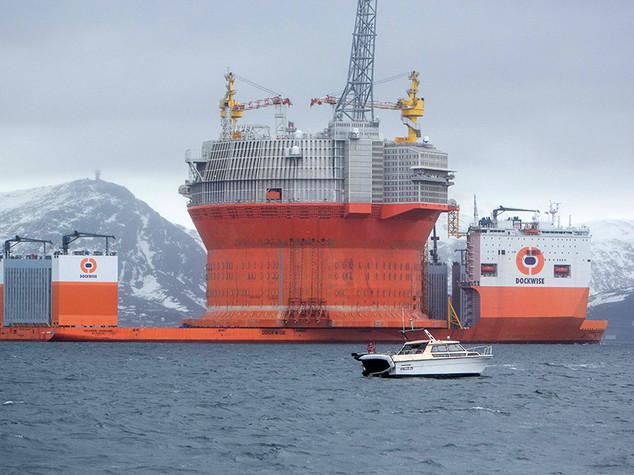 Eni avvia la produzione del giacimento norvegese di Goliat