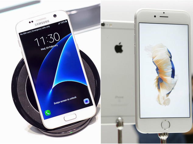 Galaxy S7 vs iPhone 6s, ecco la resistenza ad acqua e cadute - VIDEO