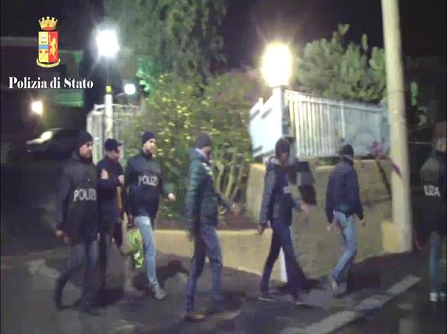 Sgominata cosca mafiosa di Catania, 35 arresti -  VIDEO