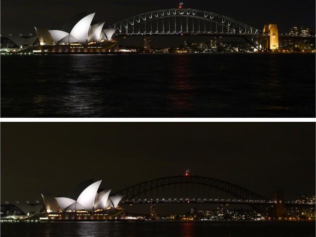 Ambiente: Sydney 'si spegne', scatta la decima 'Earth Hour'