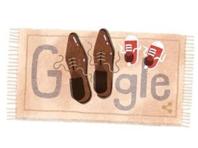 Festa del Papa', Google lo celebra con le scarpe