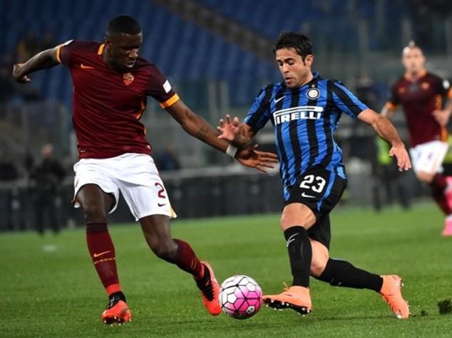 Roma-Inter 1-1, gol di Perisic e Nainggolan