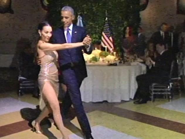 Obama in Argentina, 'tanguero' durante cena di Stato