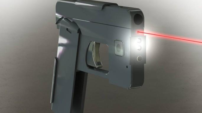 Negli Usa arriva la pistola a forma di smartphone